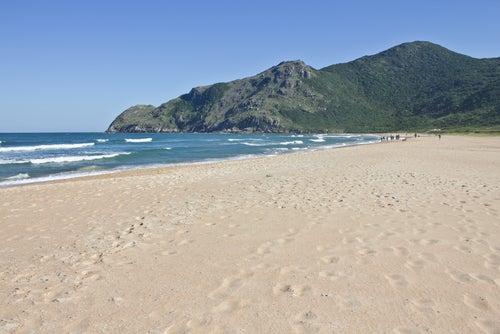 Playa en Floranópolis en Brasil