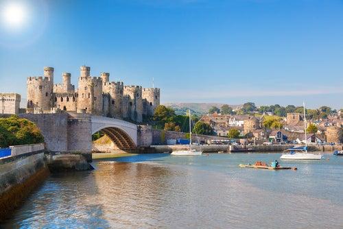 Castillo Conwy en Gales