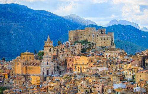 Caccamo en Sicilia