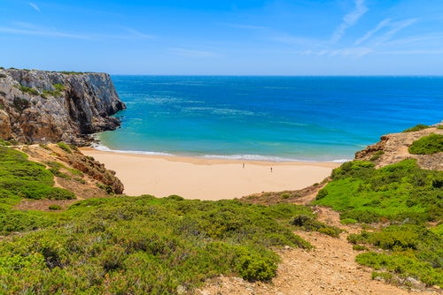 Playa Beliche en Algarve