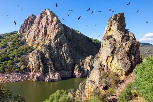 Mirador del Salto del Gitano en Extremadura