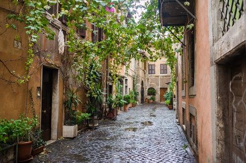Damos un paseo por el Trastevere, en Roma