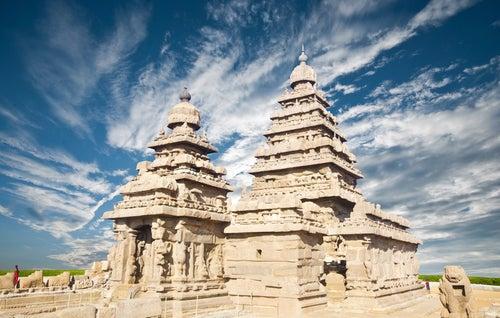 El Templo de la Orilla en Mahabalipuram, un lugar místico