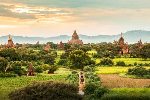 Bagan en Birmania, espiritualidad en estado puro
