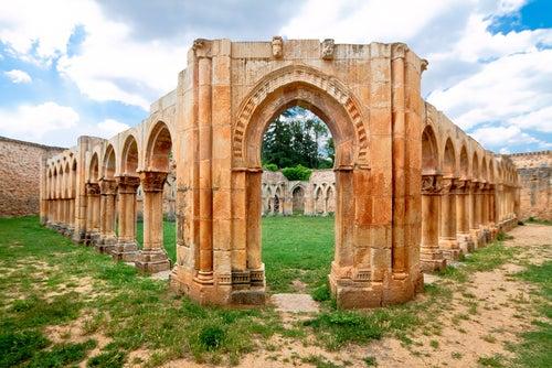 Monasterio de San Juan de Duero en Soria