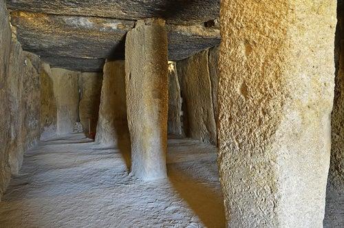 Dolmen de Menga en Antequera