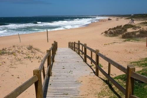 Playa de la Pedrera en Uruguay