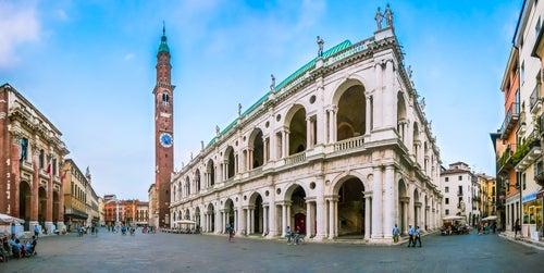 Piazza Signori en Vicenza