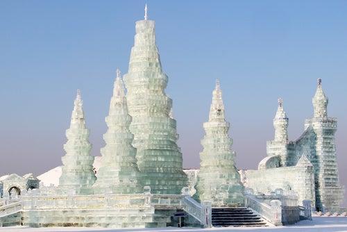 Harbin en China, la ciudad de hielo