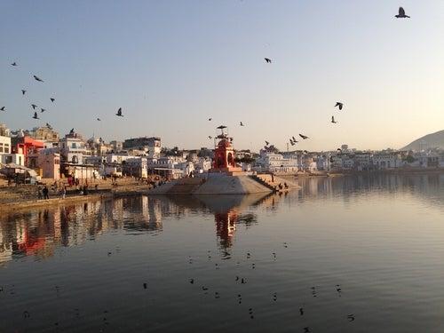 Pushkar en la India