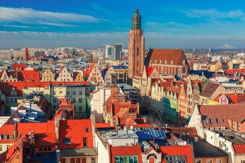 Basílica de Santa Isabel en Wroclaw