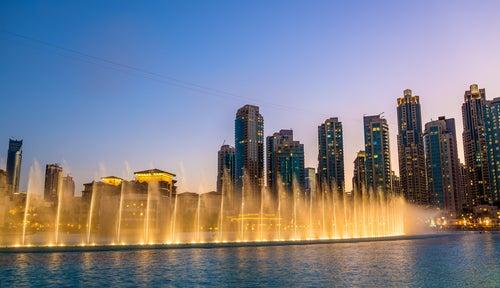 Fuentes de Dubái