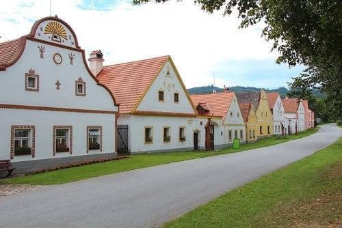 Holasovice en la República Checa