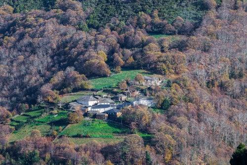 Sierra de O Courel en Galicia