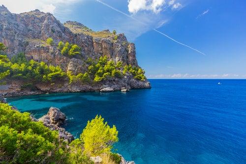 Cala Sa Calobra en Mallorca