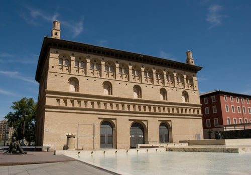 Lonja de Mercaderes en Zaragoza