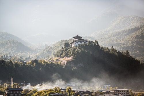 Monasterio Bumthan Dzong en Buthán