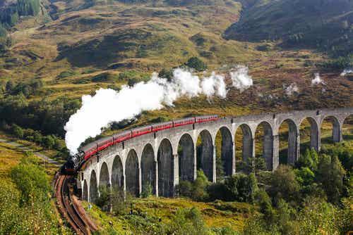 El tren Jacobite en Escocia, un viaje inolvidable