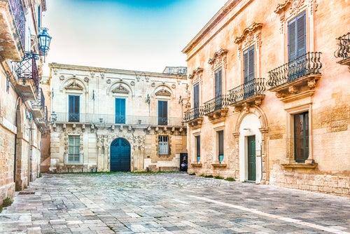 Palacios barrocos en Lecce