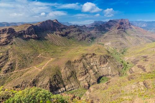Mirador de la Degollada en Gran Canaria