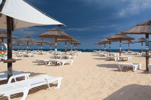 Isla Tavira en Algarve