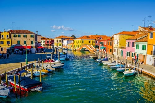 Murano en la laguna de Venecia