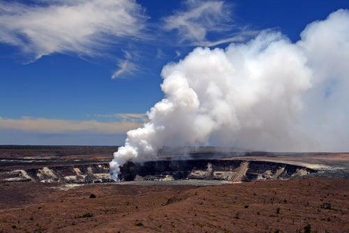 Volcán Kilauea en Hawaii