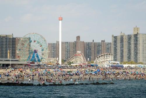 Coney Island en Nueva York