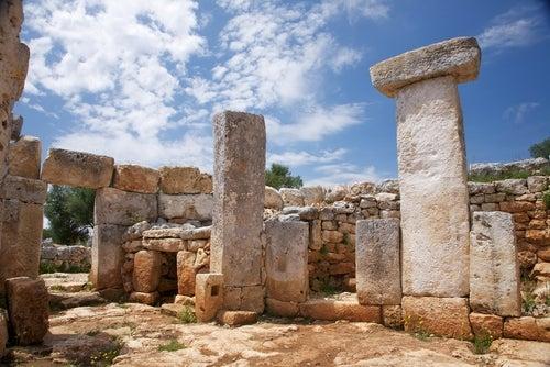 Torre d´en Galmés en Menorca