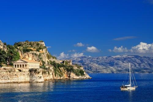Corfú en Grecia, una isla de ensueño