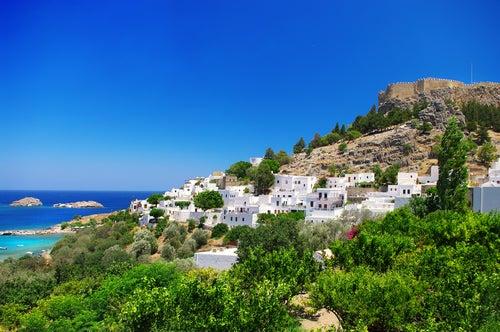 La isla de Rodas, recuerdo del Coloso