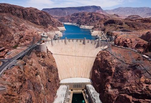 Presa Hoover en Arizona
