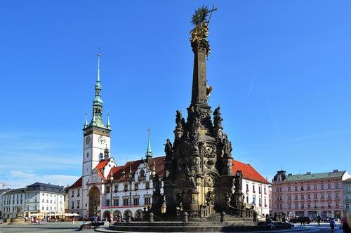 olomouc en la República Checa