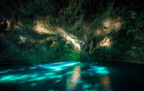 El Parque Nacional de Los Tres Ojos, un rincón mágico