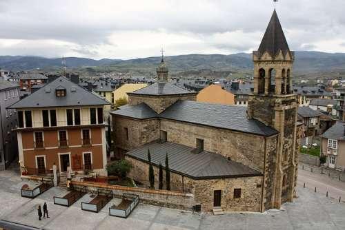 Iglesia de San Andrés en Ponferrada