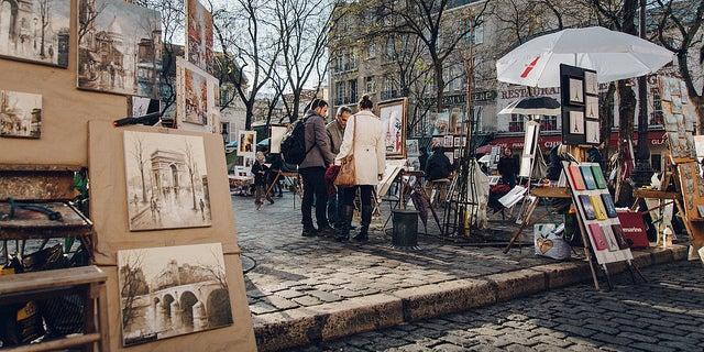 Place de Tertre en París