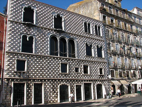 Casa dos Bicos en Lisboa