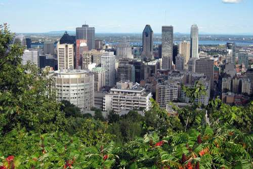Montreal desde Mont Royal