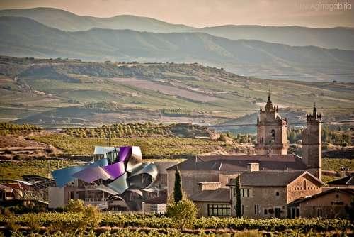 Elciego en el País Vasco