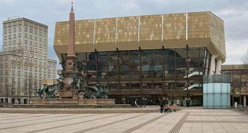 Gewandhaus en Leipzig