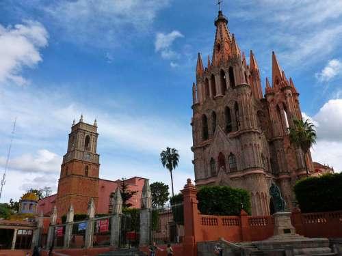 Parroquia de San Miguel Arcángel en San Miguel de Allende