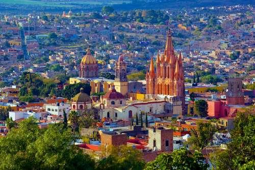 San Miguel de Allende en México