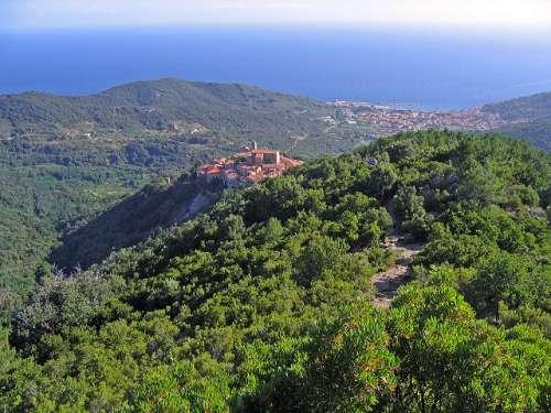 Monte Capanne en Elba