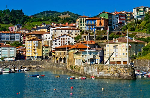 Mutriku en el País Vasco