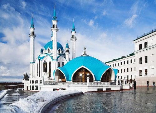 La sorprendente ciudad de Kazán en Rusia