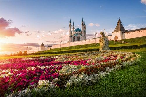 El Kremlin de Kazán.