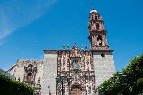 Templo de San Francisco en San Miguel de Allende