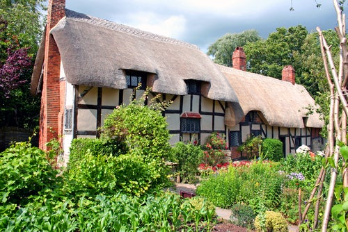 Anne Hathaway's Cottage en Stratford-upon-Avon