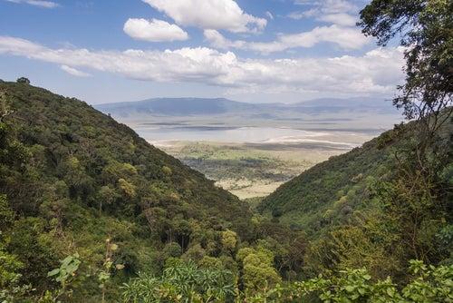 Caldera Ngorongoro en Kenia
