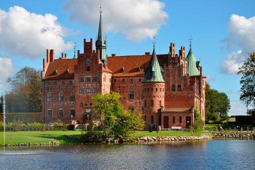 Castillo de Egeskov en Dinamarca